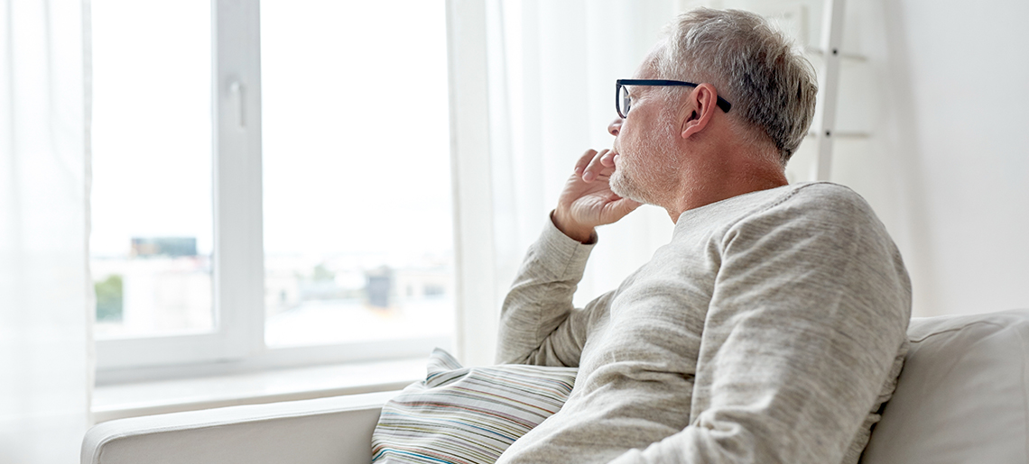 Dealing with depression in senior citizens